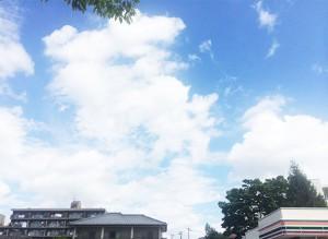 多賀城の空_2(2017晩夏 事務所近くにて)